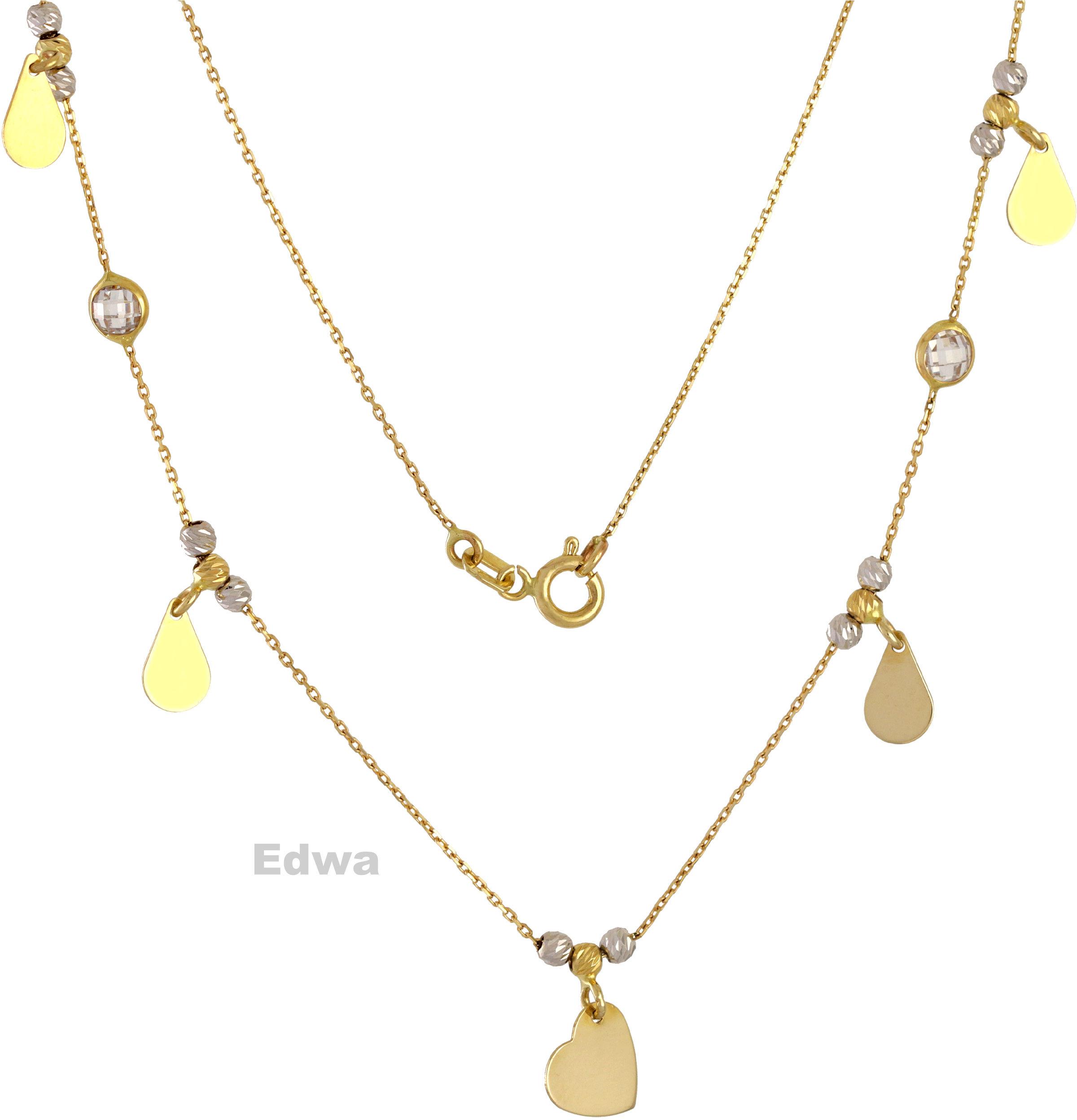 Łańcuszek złoty Celebrytka pr.585