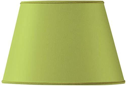 Klosz lampy owalny, Ø 20 x 13,5 x 8,5 x 13,5 cm, jasnozielony