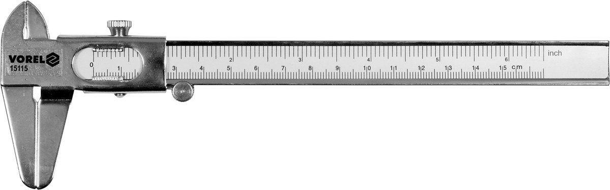 SUWMIARKA 150 MM BLASZANA , DIY Vorel 15115 - ZYSKAJ RABAT 30 ZŁ