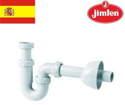 Półsyfon umywalkowy: 1-komorowy, regulowany