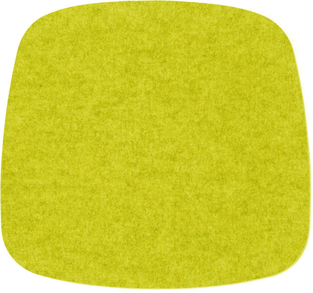 Hey Sign eames plastic armchair nakładka na siedzisko, żywa wełna, Verde 25AR, 37 x 35 x 0,5 cm