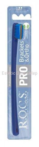 R.O.C.S., PRO 5940 Brackets & Ortho, szczoteczka do zębów ortodontyczna, Soft