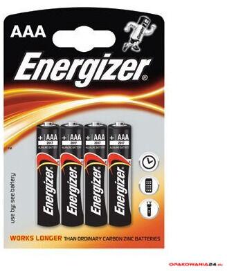 Bateria alkaliczna ENERGIZER INTELLIGENT LR03/AAA (4szt)