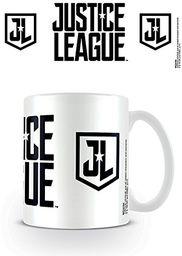 Pyramid International Film Liga Sprawiedliwości (szablony z logo) oficjalny zapakowany ceramiczny kubek do kawy/herbaty, papier, wielokolorowy, 11 x 11 x 1,3 cm