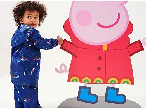 Regatta Unisex dzieci Peppa Pack-it spodnie na wędrówki Newroyalpeppa 4 Years