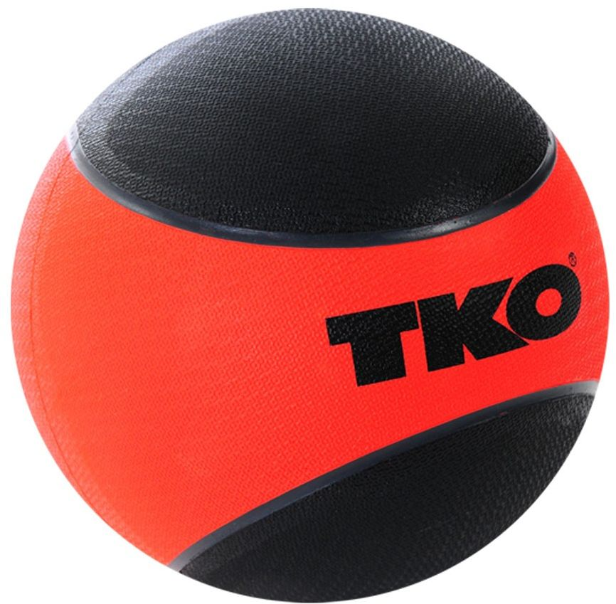 Piłka lekarska gumowana 6kg K509RMB TKO Czerwona
