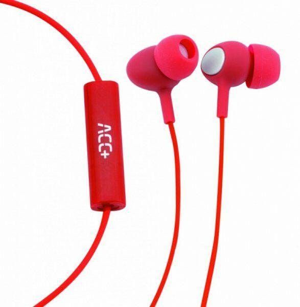 ACC+ Słuchawki douszne Soul 2 czerwony