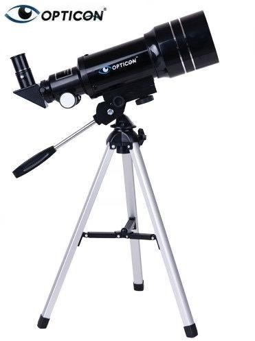Profesjonalny Teleskop Astronomiczny OPTICON APOLLO + Statyw + Płyta DVD + Mapy/Plakaty + Akcesoria.