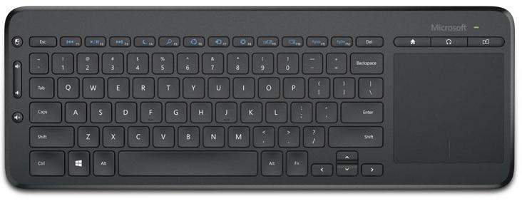 Klawiatura MICROSOFT All-In-One Media Keyboard N9Z-00022 60 zł za 500 zł na przyszłe zakupy! DARMOWY TRANSPORT!