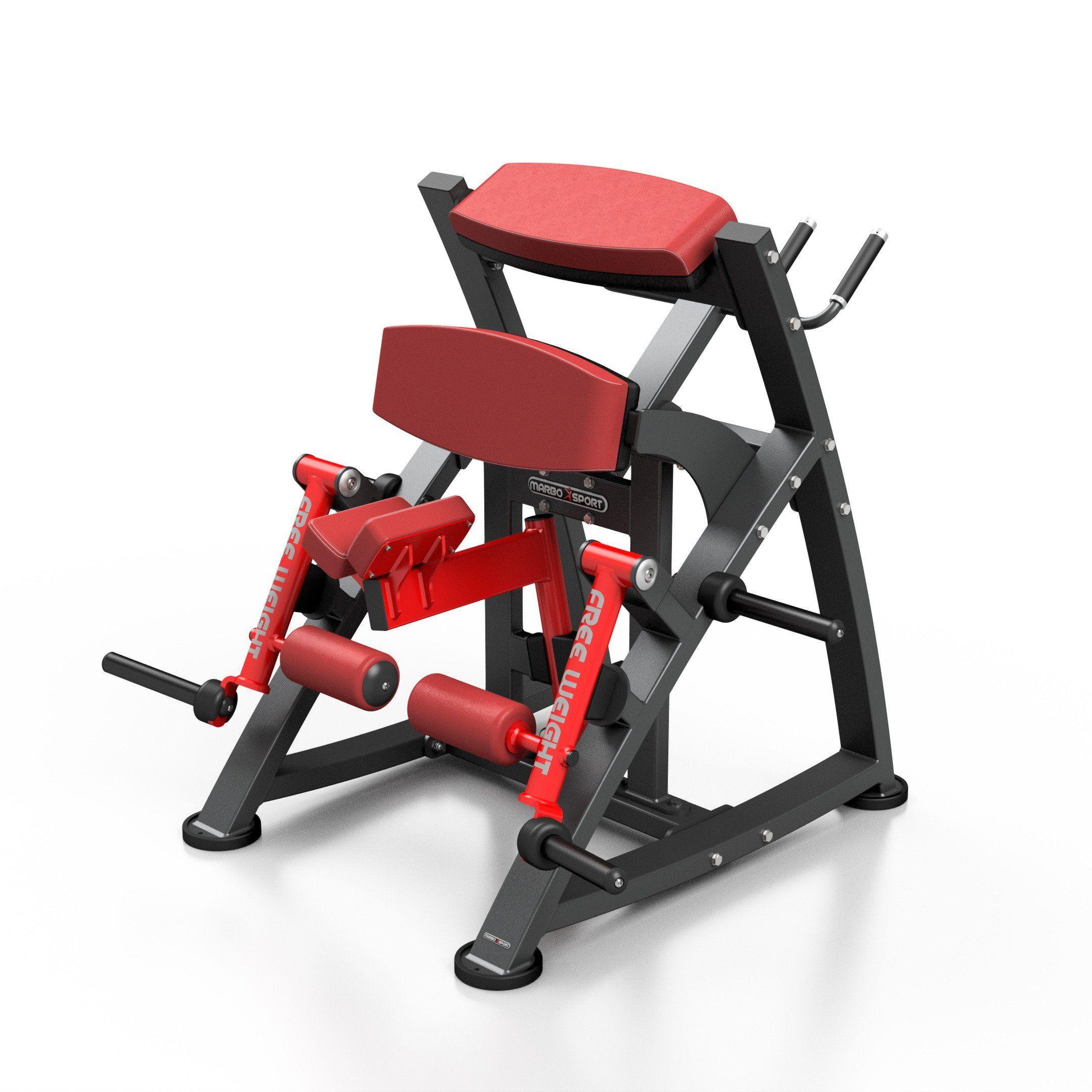 Maszyna na wolny ciężar na dwugłowy uda MF-U012 - Marbo Sport