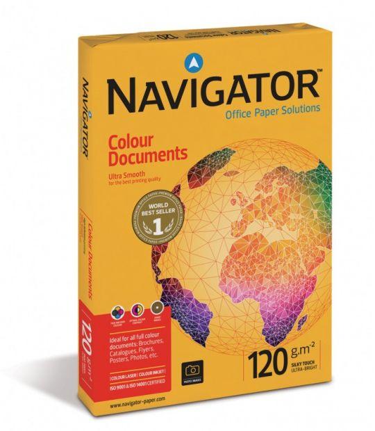 Papier Navigator Colour Documents - A3, 120 g/m2, 500 arkuszy (XA3-120-NAVIGATOR)
