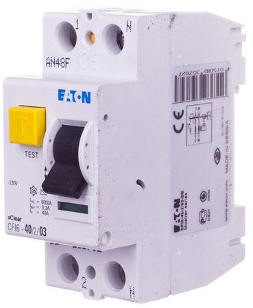 Wyłącznik różnicowoprądowy 2P 40A 0,3A typ AC CFI6 40/2/03 235762