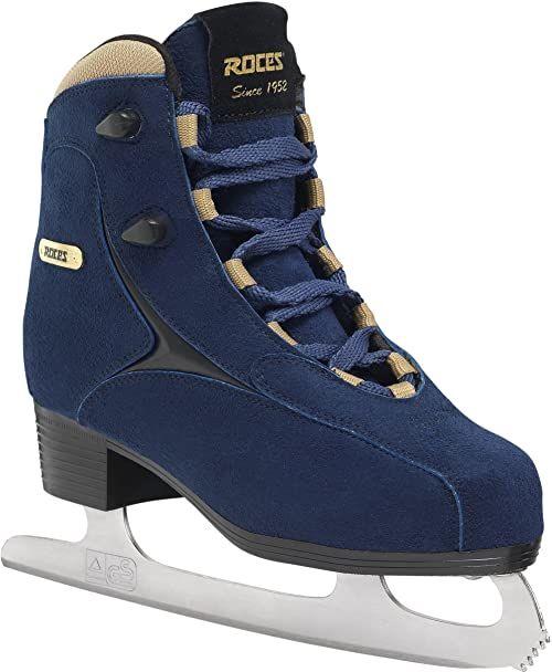 Roces damskie łyżwy Caja, niebiesko-złoty, 36