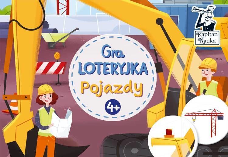 Gra Loteryjka Pojazdy Kapitan Nauka - Opracowanie zbiorowe