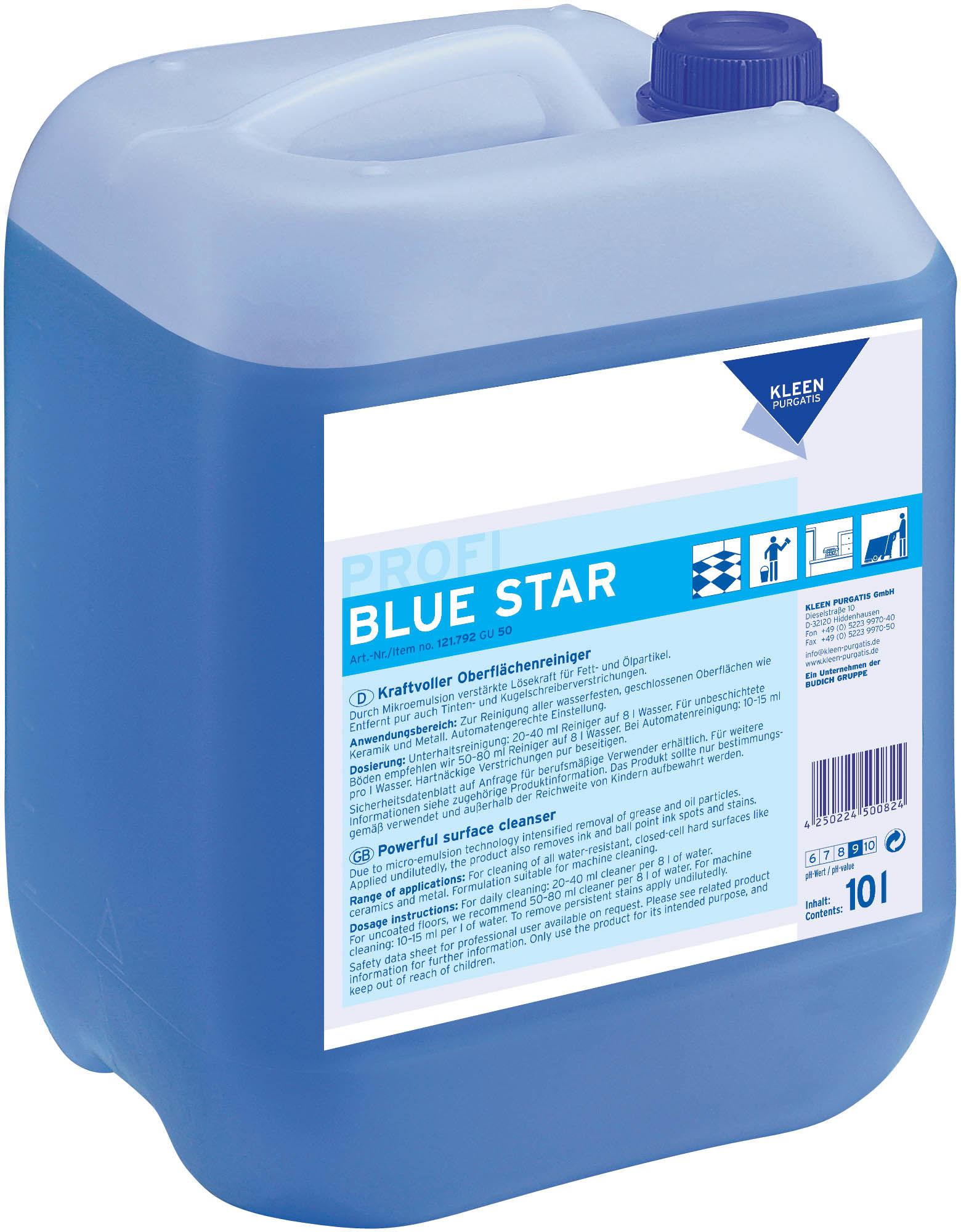 Kleen Blue Star - środek czyszczący do codziennego sprzątania