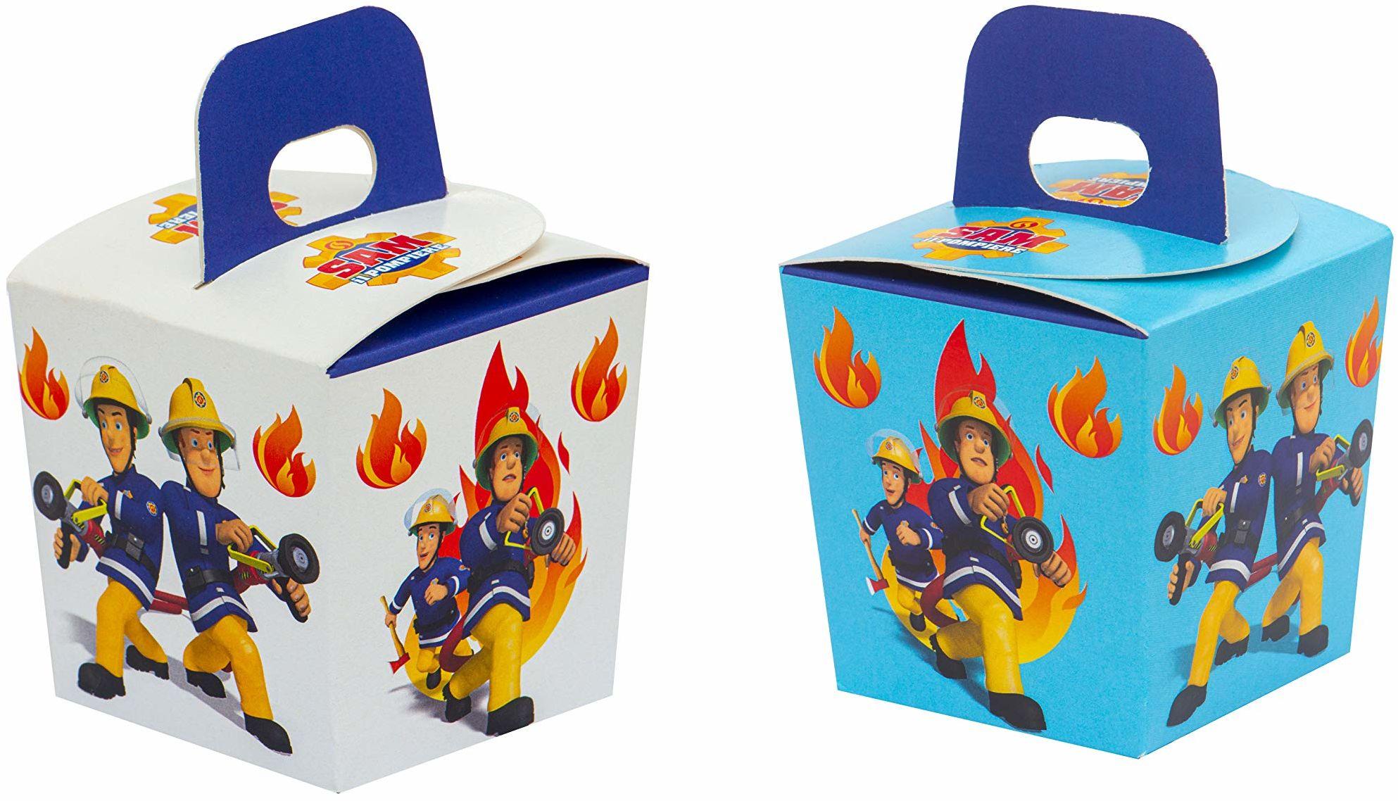 Decora 0383022 pojemnik na słodycze z motywem straży pożarnej, papier