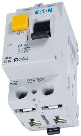 Wyłącznik różnicowoprądowy 2P 63A 0,03A typ AC CFI6 63/2/003 235768