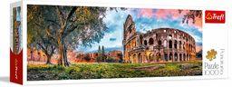 Trefl Koloseum o Poranku Puzzle Panoramiczne 1000 Elementów o Wysokiej Jakości Nadruku, od 12 lat