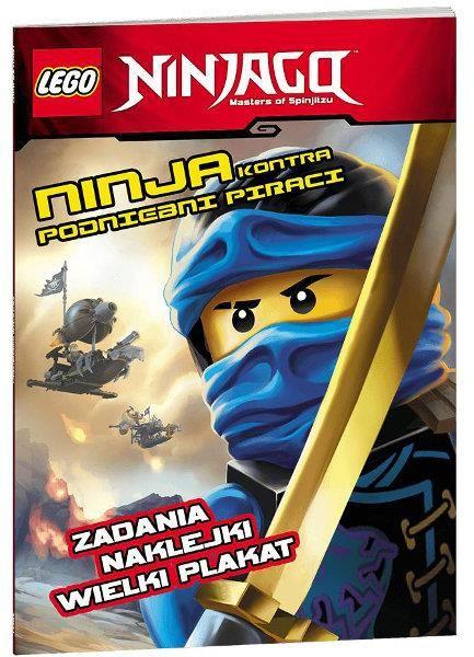 Lego Ninjago Ninja kontra podniebni piraci ZAKŁADKA DO KSIĄŻEK GRATIS DO KAŻDEGO ZAMÓWIENIA