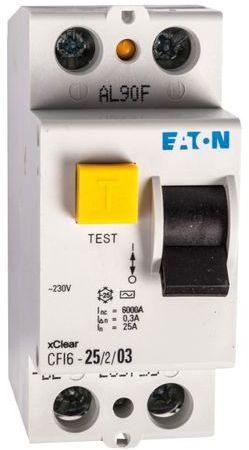 Wyłącznik różnicowoprądowy 2P 25A 0,3A typ AC CFI6 25/2/03 235755
