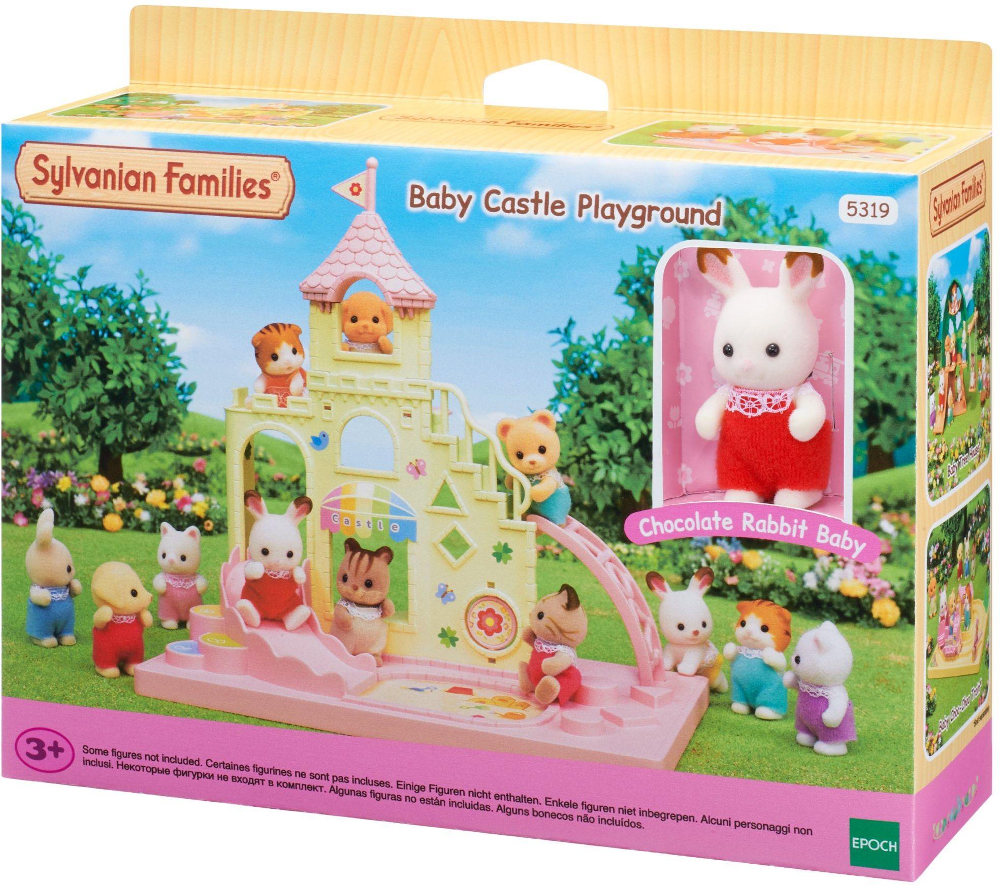 Sylvanian Families 5319 Baby Abenteuer Zamek - domek dla lalek zestaw do zabawy