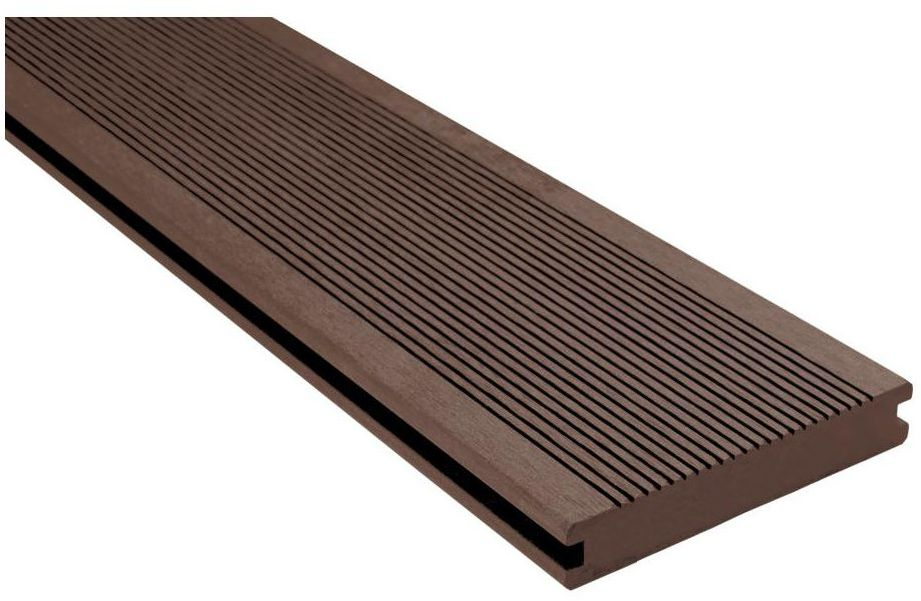 Deska kompozytowa lita 240 x 14 cm 20 mm SOLID brązowa DLH