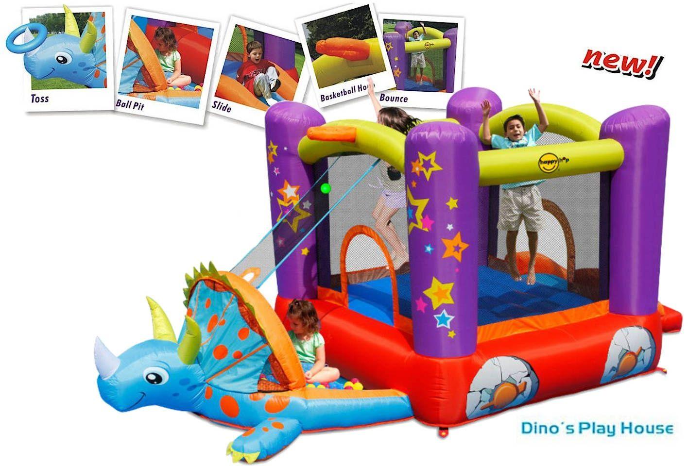 Dmuchany plac zabaw Happy Hop - Dino