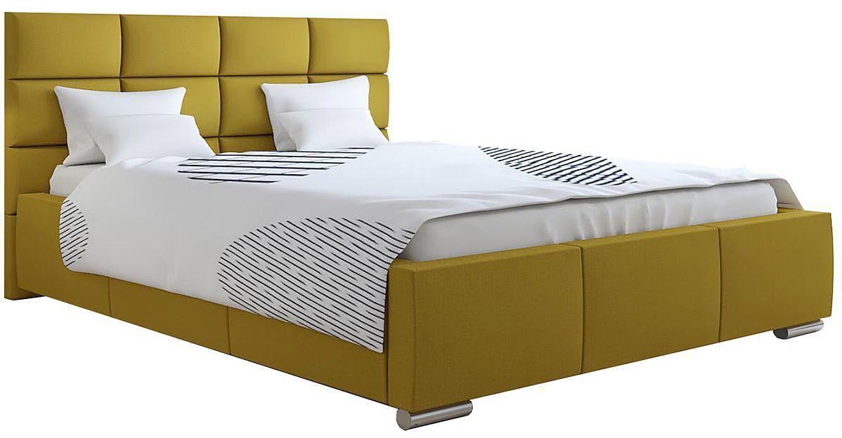 Tapicerowane pojedyncze łóżko 90x200 Campino 2X - 48 kolorów