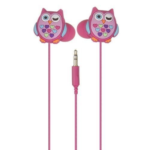 Słuchawki douszne - sowa