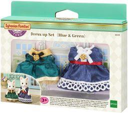 Sylvanian Families 6021 Zestaw eleganckich ubranek (niebieskie i zielone)