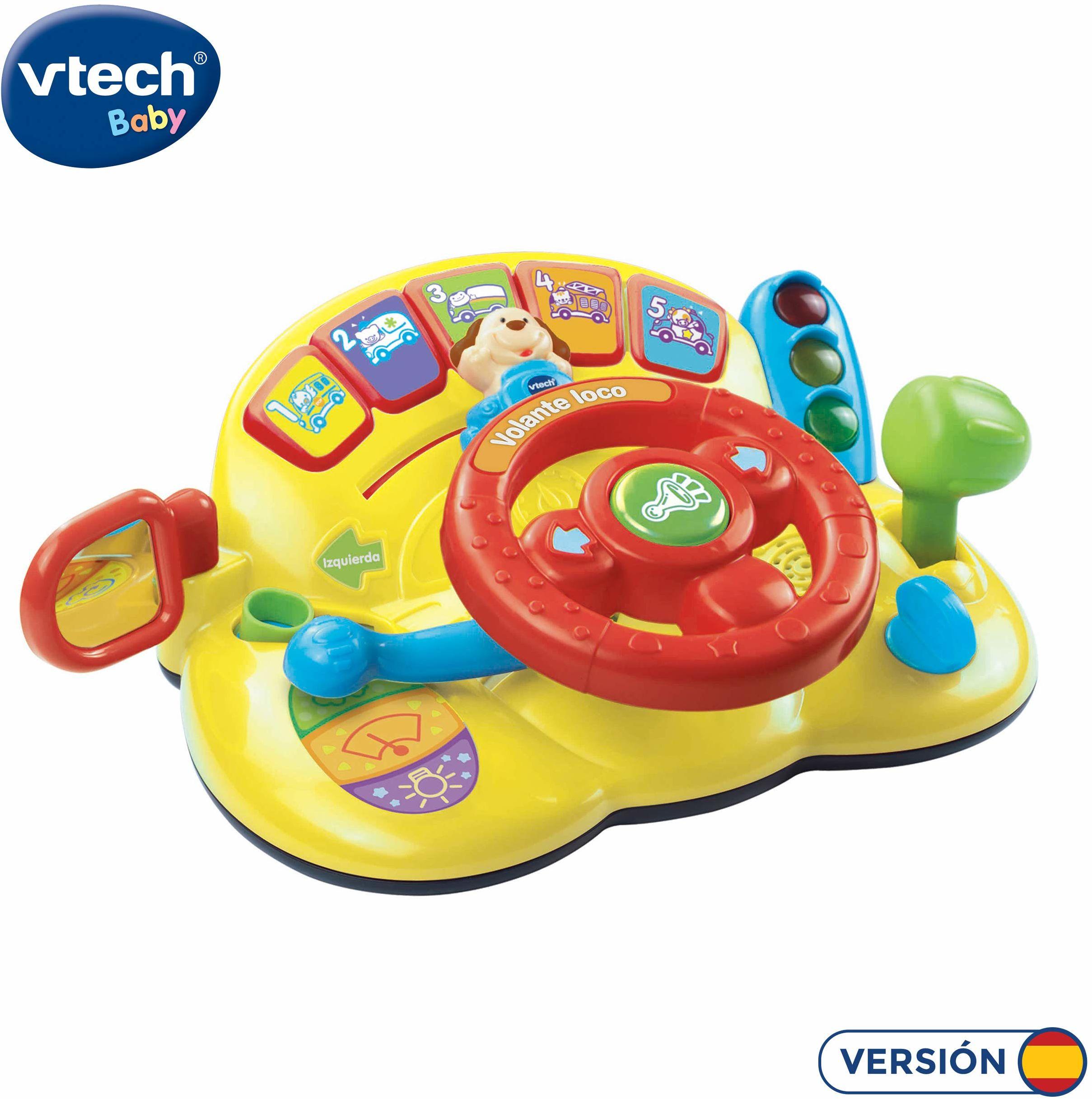 VTech - Interaktywna kierownica z głosem i światłem (3480-166622)