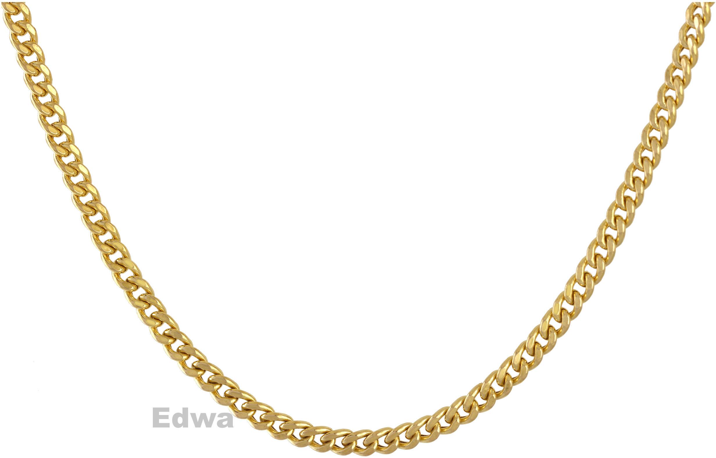 Łańcuszek złoty wzór Pancerka pr.585. 45 cm