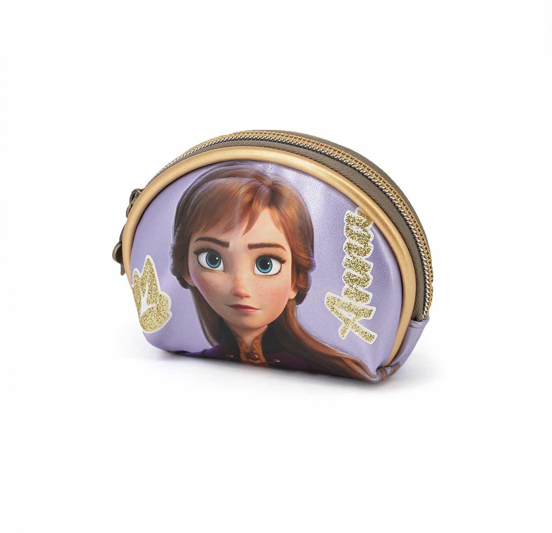 KARACTERMANIA Królowa lodu (Frozen) Element-Oval portfel, wielokolorowy
