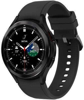 Smartwatch SAMSUNG Galaxy Watch 4 Classic SM-R890NZ 46mm Czarny Nocne Przeceny! Dogodne raty! I ODBIERZ CASHBACK DO 300 ZŁ ORAZ DOSTĘP DO TIDAL PREMIUM DARMOWY TRANSPORT!