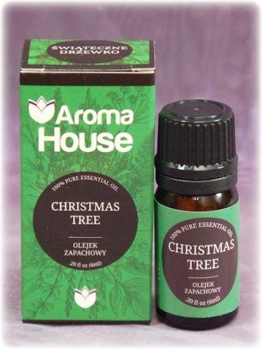 ŚWIĄTECZNE DRZEWKO - Olejek zapachowy Aroma House 6 ml