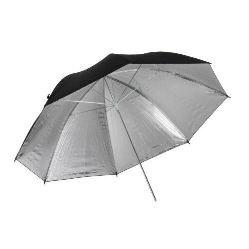 Quadralite parasolka srebrna 91cm