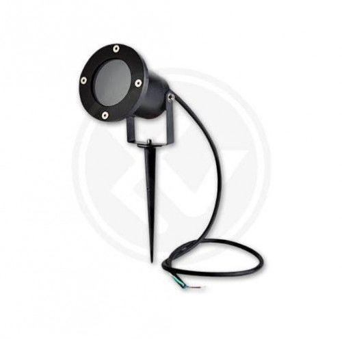 Lampa LED ogrodowa reflektor GU10 230V AC - kabel 1 metr