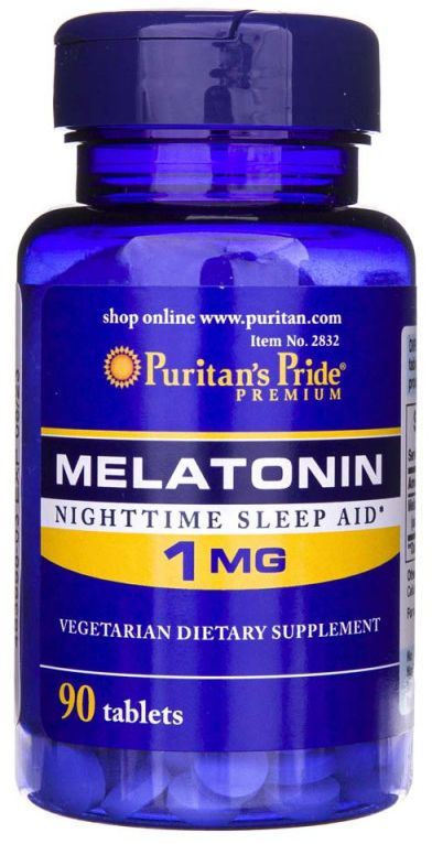 Melatonina 1 mg (90 tab) Puritan''s Pride