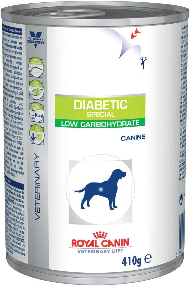 Royal Canin Veterinary Health Nutrition Dog DIABETIC konserwa