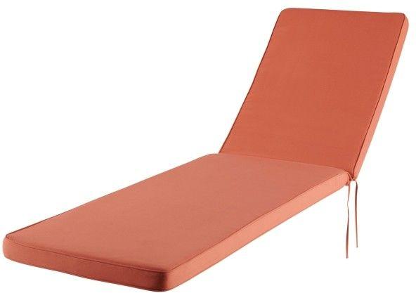 Poduszka na leżankę GoodHome Tiga mango