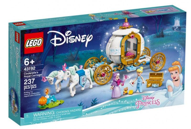 Klocki Disney Princess 43192 Królewski powóz Kopciuszka