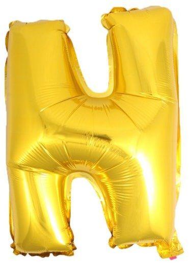 Balon foliowy N złoty 41cm 1szt BF41-N-ZLO