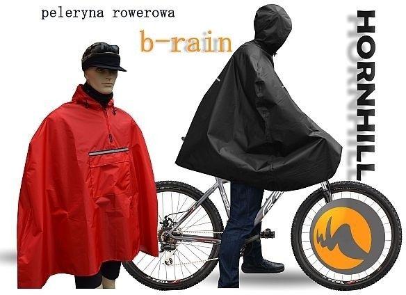 PRZECIWDESZCZOWA PELERYNA ROWEROWA HORNHILL b-rain