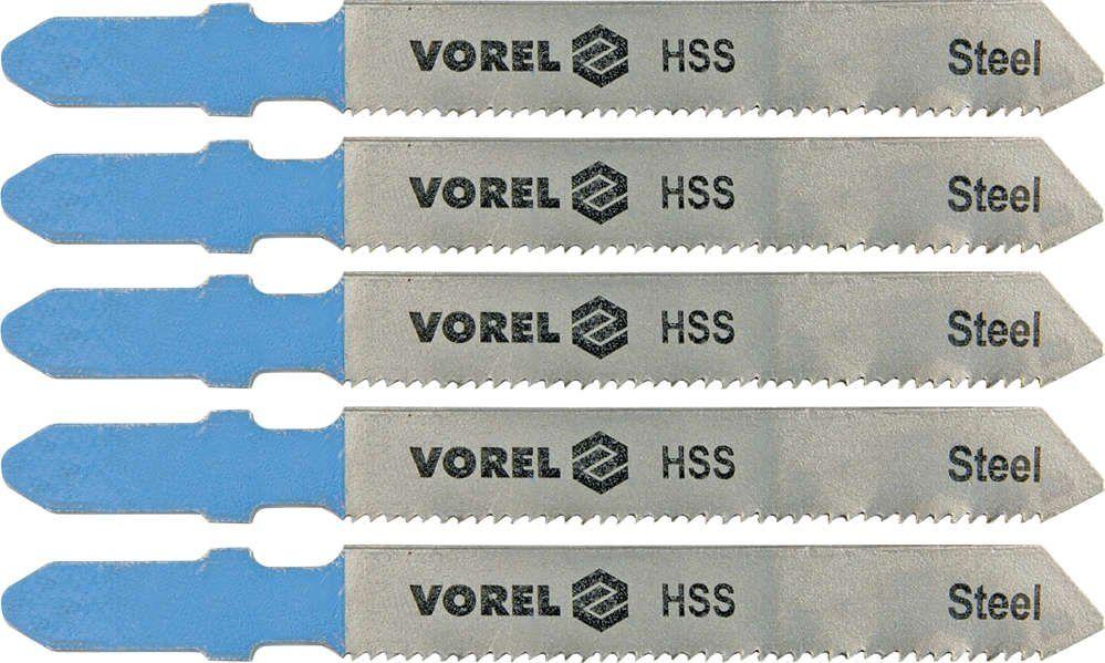 Brzeszczot do wyrzynarki,uchwyt typu bosch do metalu kpl. 5szt Vorel 27814 - ZYSKAJ RABAT 30 ZŁ