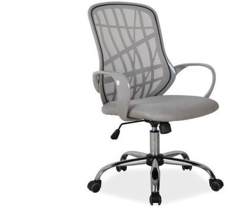 Fotel biurowy DEXTER szary  Kupuj w Sprawdzonych sklepach