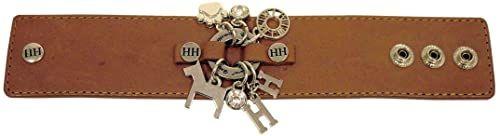 Happy-House 11422 bransoletka brązowo-mosiądz (szerokość), brązowy, mosiądz