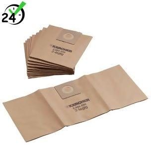 Worki papierowe (5szt) do NT 25/1 - NT 35/1, Karcher AUTORYZOWANY PARTNER KARCHER KARTA 0ZŁ POBRANIE 0ZŁ ZWROT 30DNI RATY GWARANCJA D2D WEJDŹ I KUP NAJTANIEJ