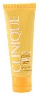 Clinique Face Cream Sun SPF 40 Krem do twarzy zapewniający wysoką ochronę przed szerokim spektrum promieniowania słonecznego UVB UVA 50ml