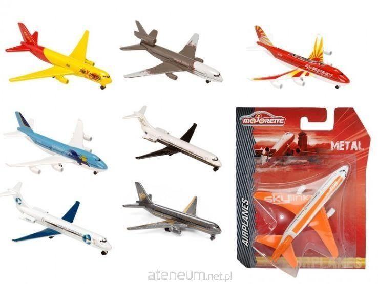 Majorette Airplanes - Samolot pasażerski Dagon-Power A380-800 2053120