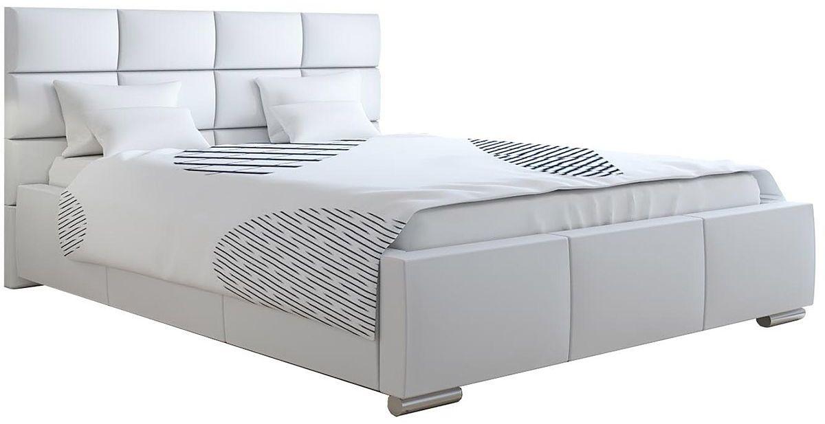 Podwójne łóżko tapicerowane 160x200 Campino 2X - 48 kolorów